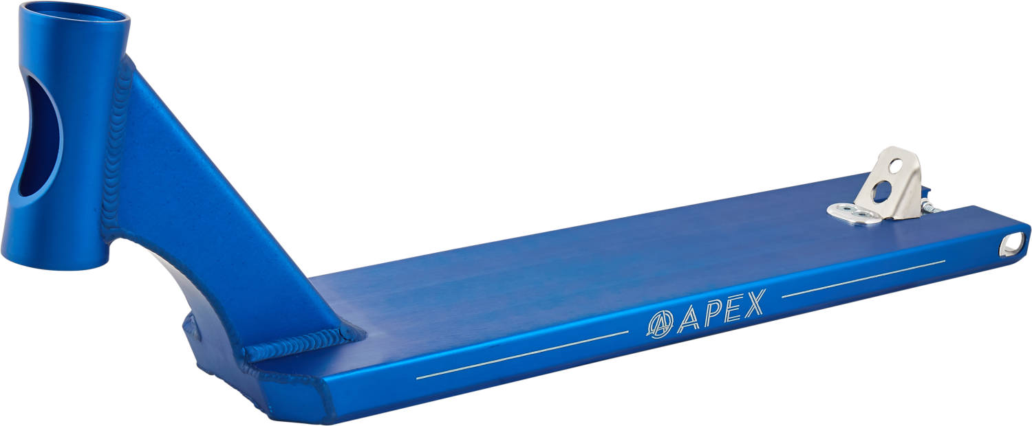 "Apex 5"" Box Cut Pro Scooter Deck 53 cm  - Blue"