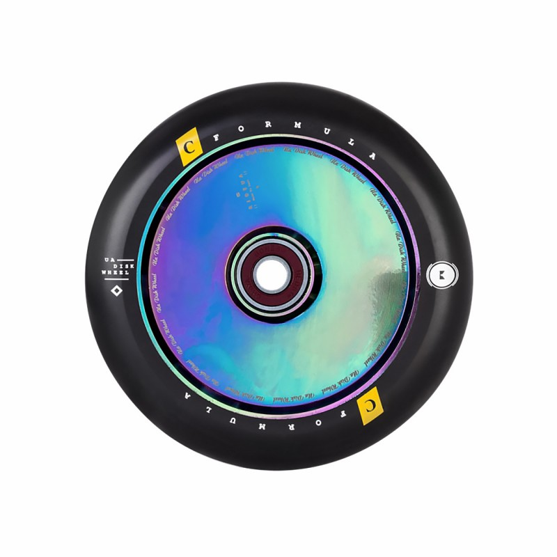 UrbanArtt Hollow Core V2 120mm Wheel - Rainbow