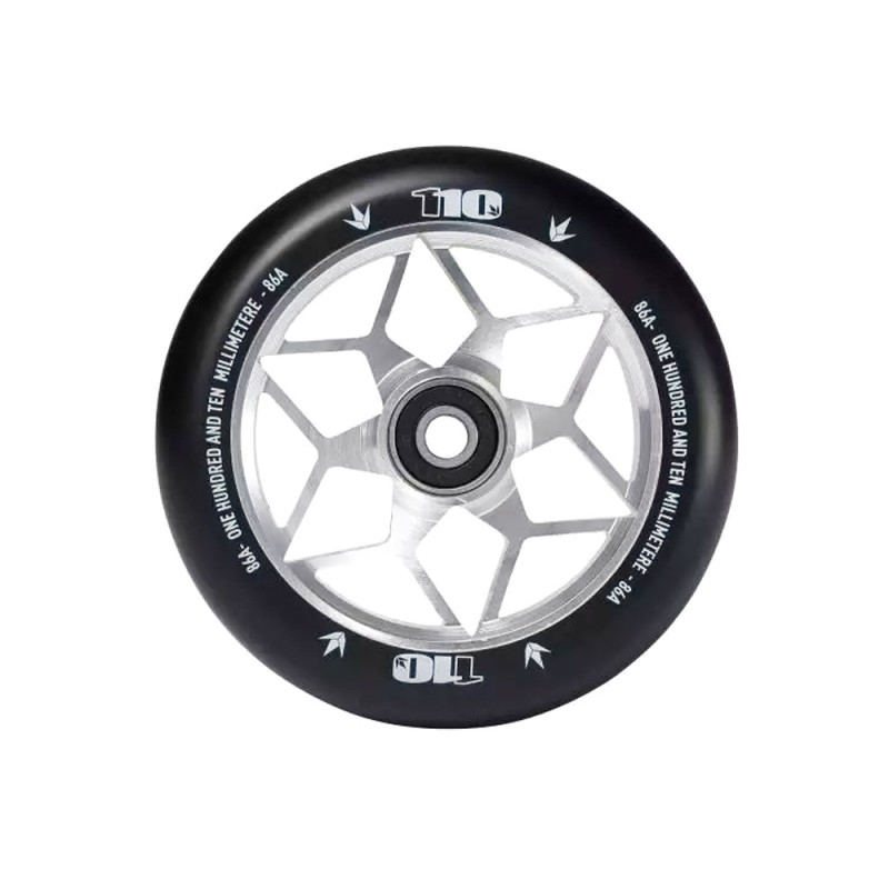 Blunt Diamond 110 mm Wheel - Silver