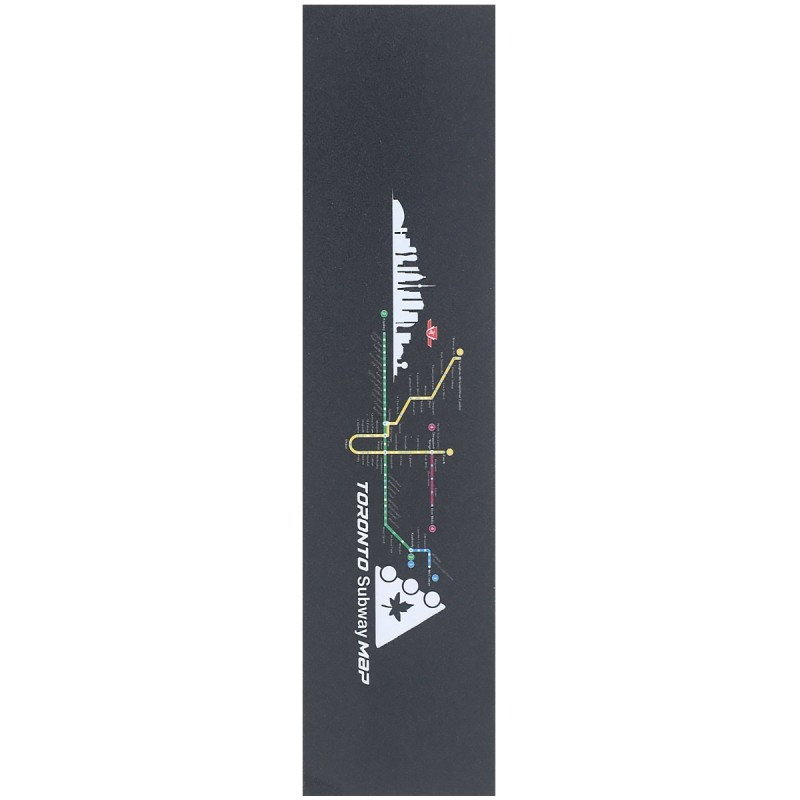 Trynyty Toronto Subway Map Grip Tape