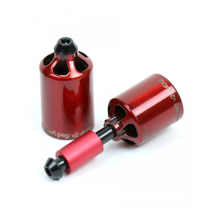 Ethic Steel Peg Set - Red
