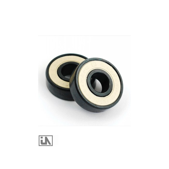 ABEC 5 UrbanArtt bearing set - Black/White