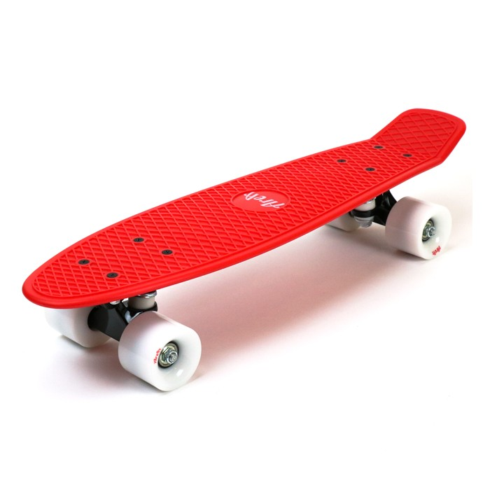 Area Candyboard Cruiser - Red / White