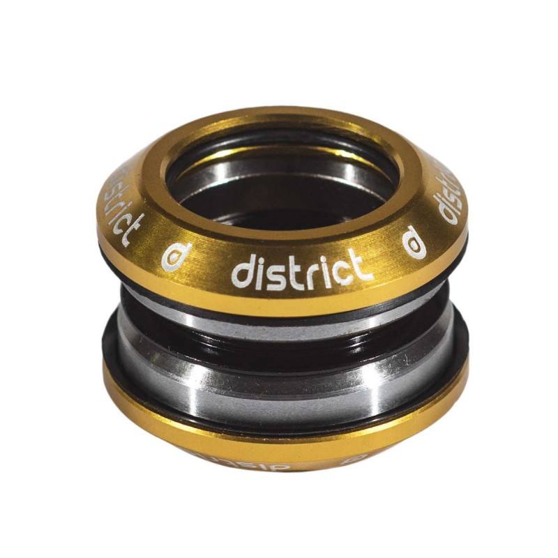 District Integrated Headset V3 - with 25.4 topcap - Gold