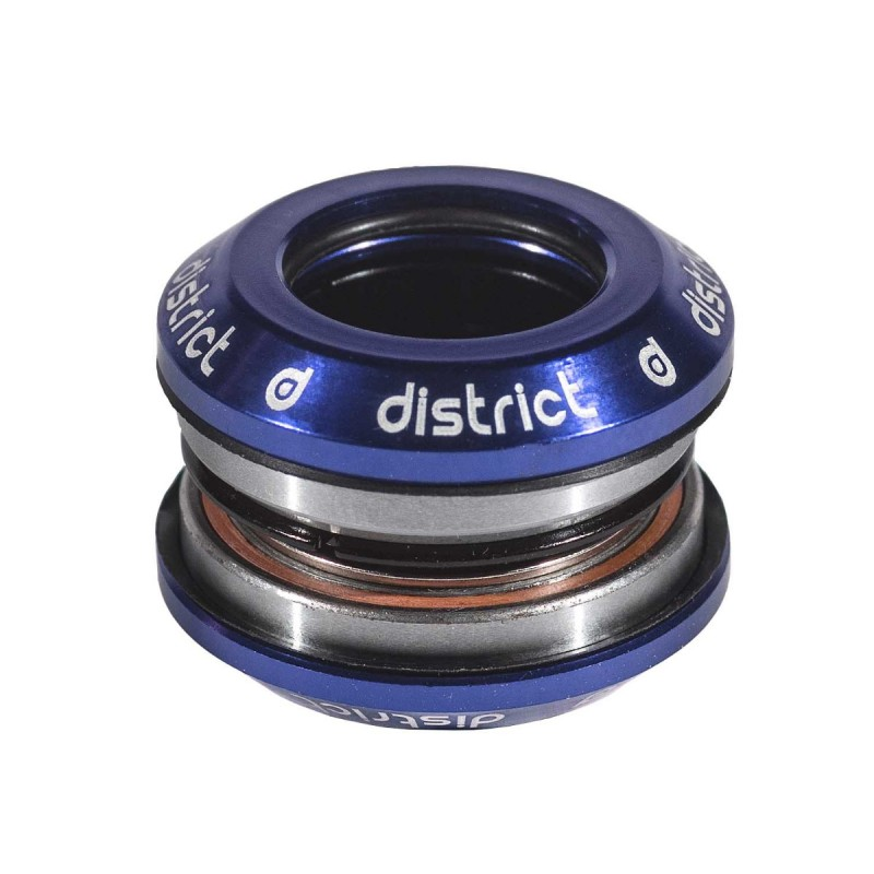 District Integrated Headset V3 - with 25.4 topcap - Blue