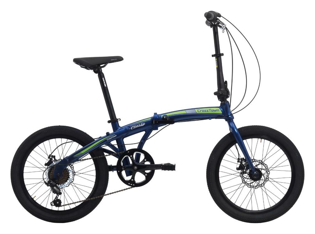Crosstown disk aluminium 2018 skladací bicykel 20 (SKLADACí BICYKEL)