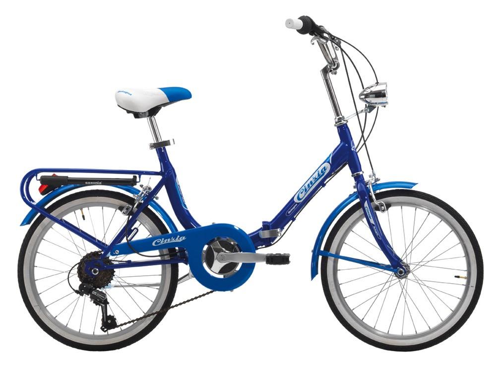 Bologna Hi-Tension 2018 skladací bicykel 20 modrý (SKLADACí BICYKEL)