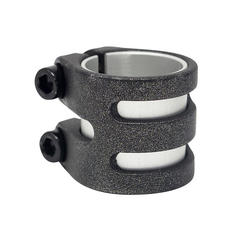 District DLC Double Light Clamp - Pearl Black