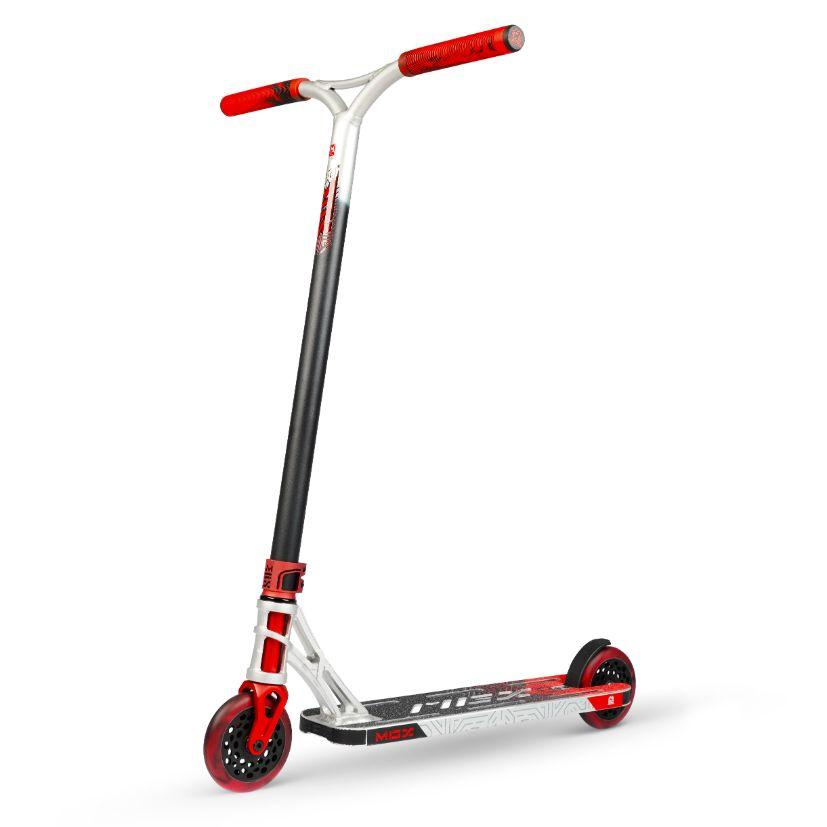MGP MGX Extreme Scooter - Silver/Red