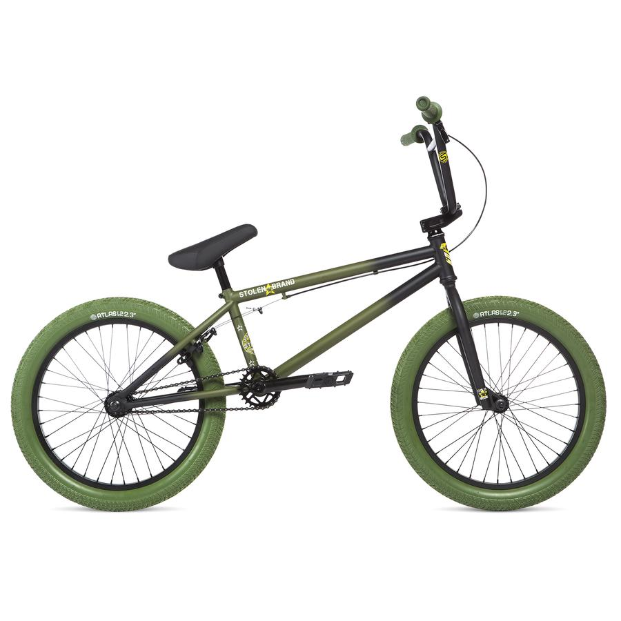 "Stolen Stereo 20"" 2020 BMX Freestyle Bike - Faded Spec Ops"