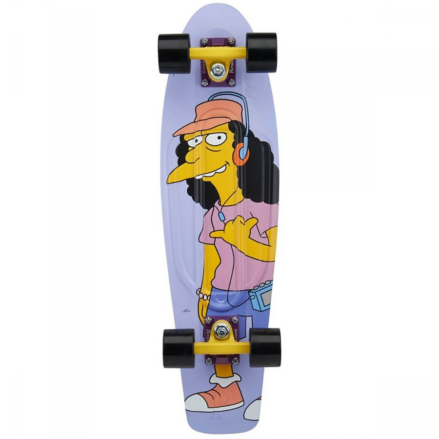 "Pennyboard - Penny 27"" Cruiser - Simpsons Rock On Little Dudes Otto"