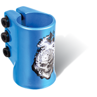 MGP Hot Head oversized triple clamp - BLUE