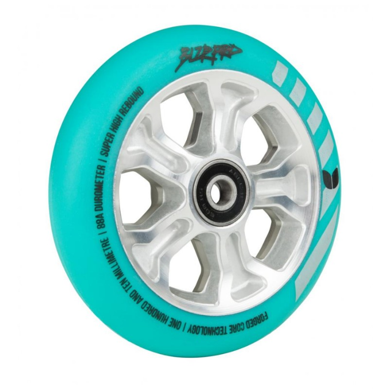Blazer Pro Rebellion Forged Wheel 110mm ABEC 11 - Mint/Silver 1 ks