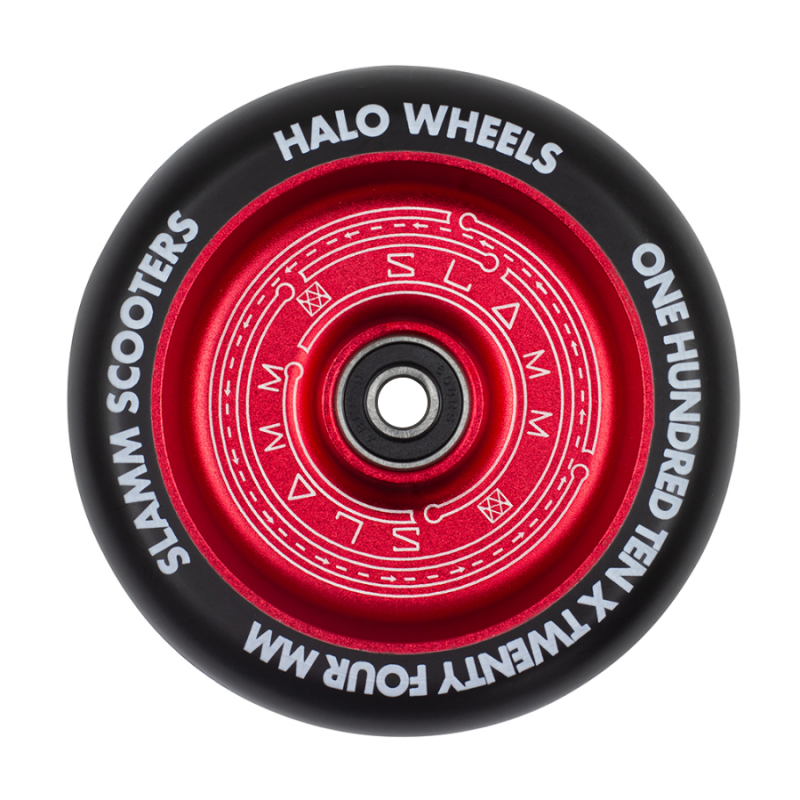 Slamm Halo Deep Dish 110mm Wheel - Red