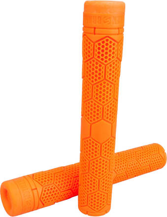 Stolen Hive SuperStick Flangless Grips - Neon Orange