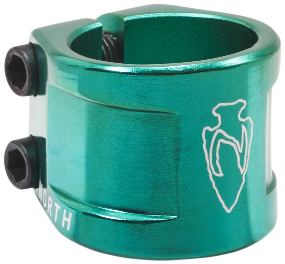 North Axe V2 Double Clamp - Emerald