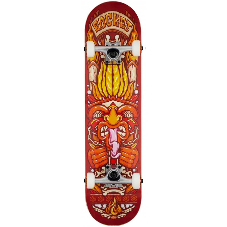 "Rocket 7.75"" Skateboard - Chief Pile-Up"