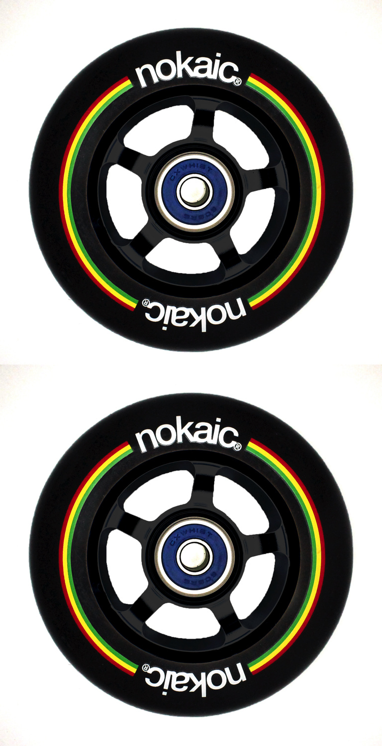 NOKAIC 100MM BLACK/BLACK 2KS