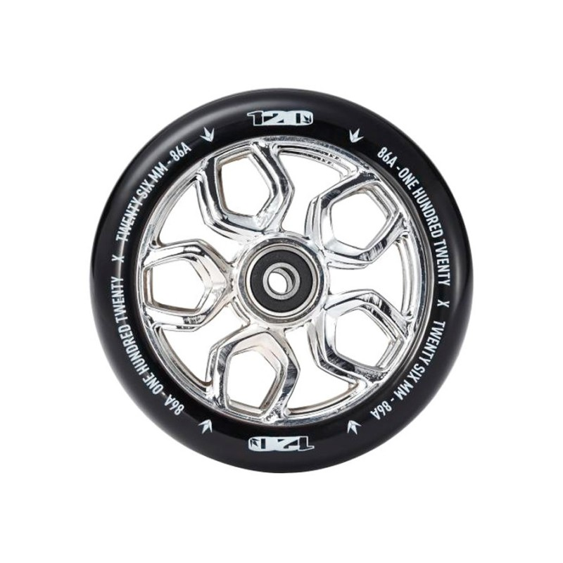 Blunt Lambo 120mm Wheel - Chrome