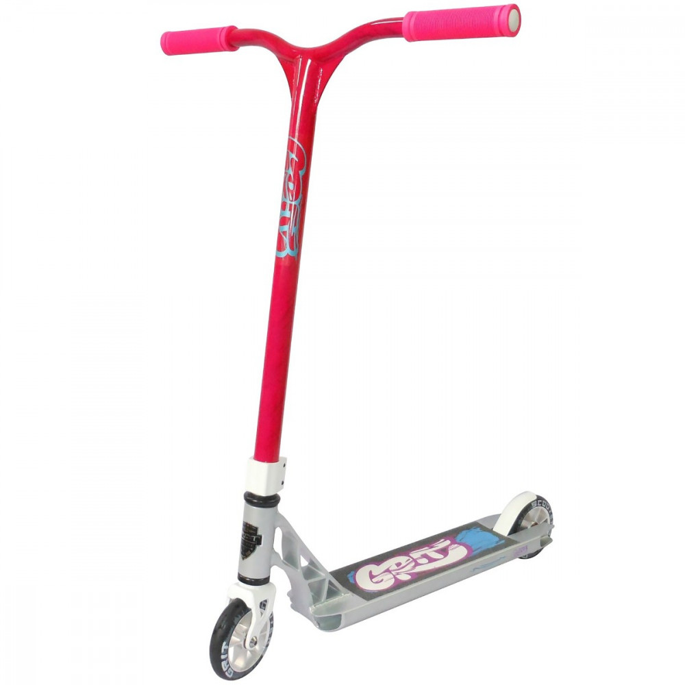 Grit Fluxx Scooter - Silver / Pink