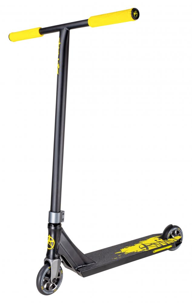 Addict Defender MK II Scooter -Black/Yellow