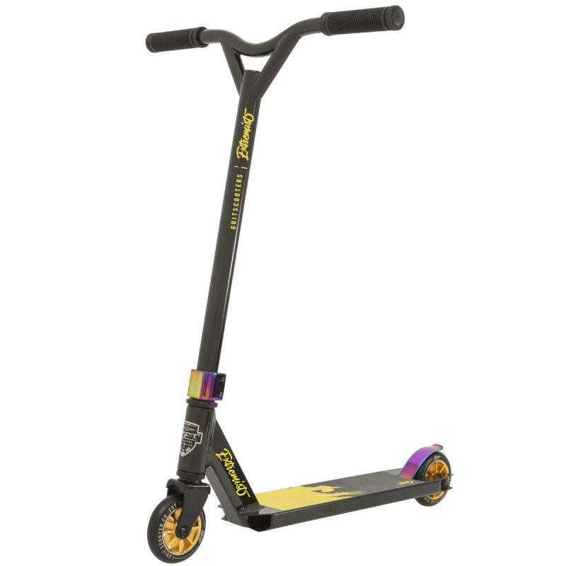 Grit Extremist Scooter - Black / Gold / Metallic