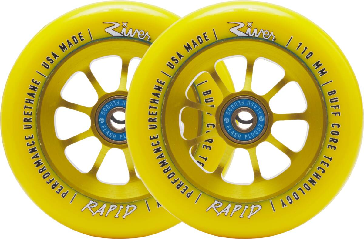 River Naturals Rapid Pro Scooter Wheels 2-Pack - Sunrise
