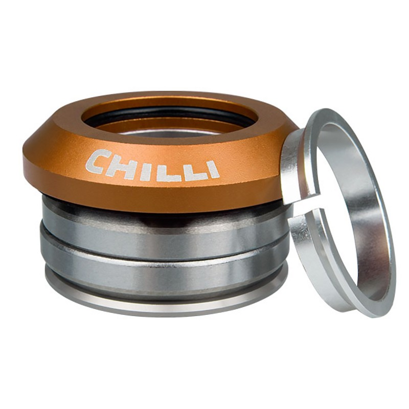Hlavové zloženie - Chilli Individual Integrated Headset - Gold