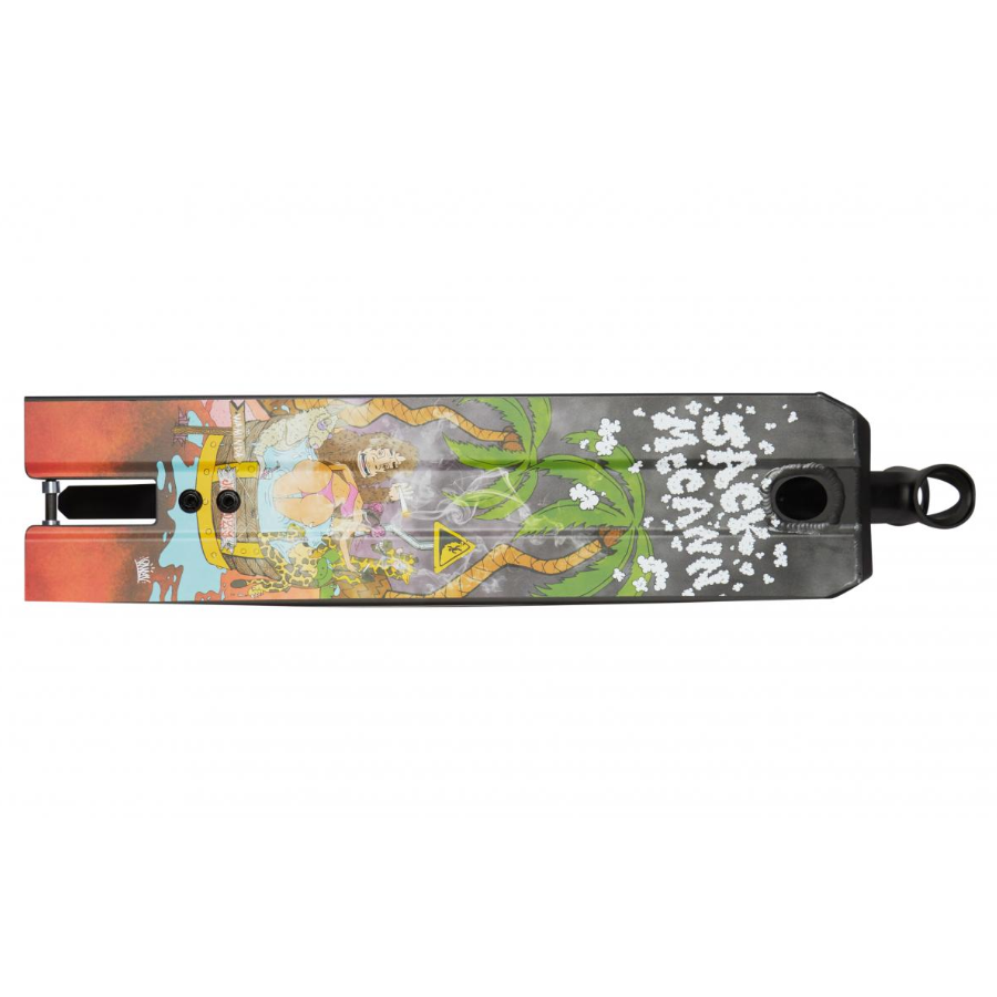 Flavor Jack Mccann 565mm Deck - Black