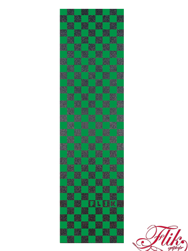 Flik Grip Tape - Kockovaný Black Green
