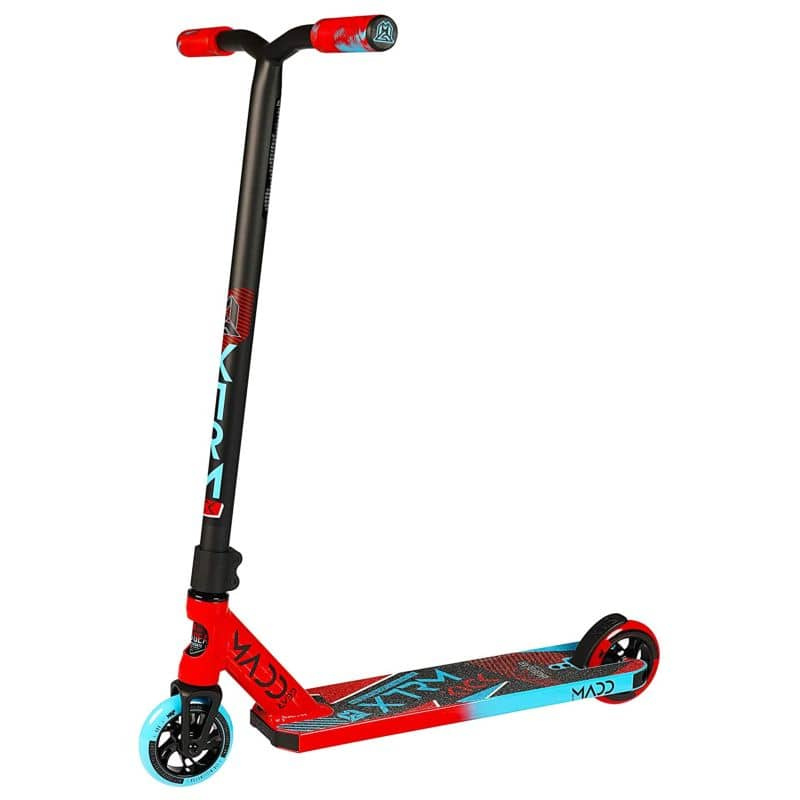 Madd Gear Kick Extreme Scooter in the Red/Blue