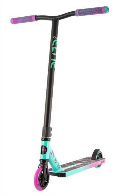 Madd Gear Carve Elite Scooter - Pink/Teal