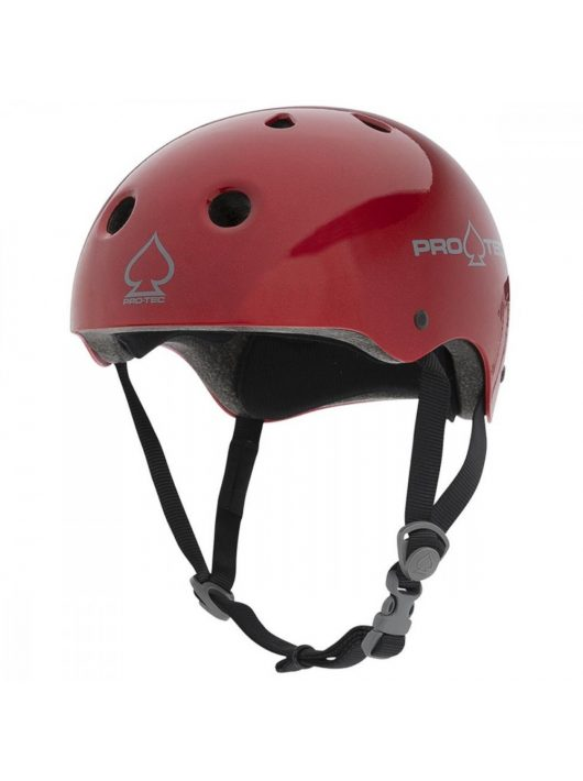 Pro-Tec Classic Certified Helmet -Red Metal Flake
