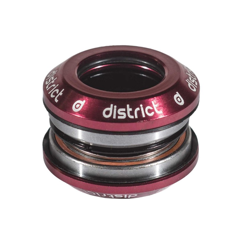 District Integrated Headset V3 - with 25.4 topcap - Red