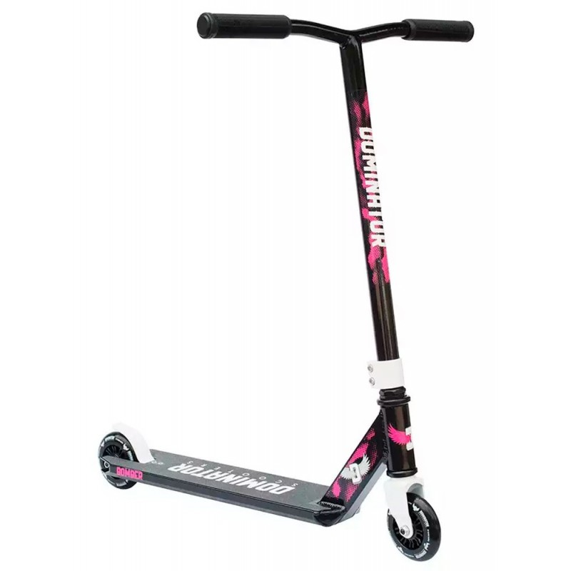 Dominator Bomber 2017 Scooter - Black / Pink
