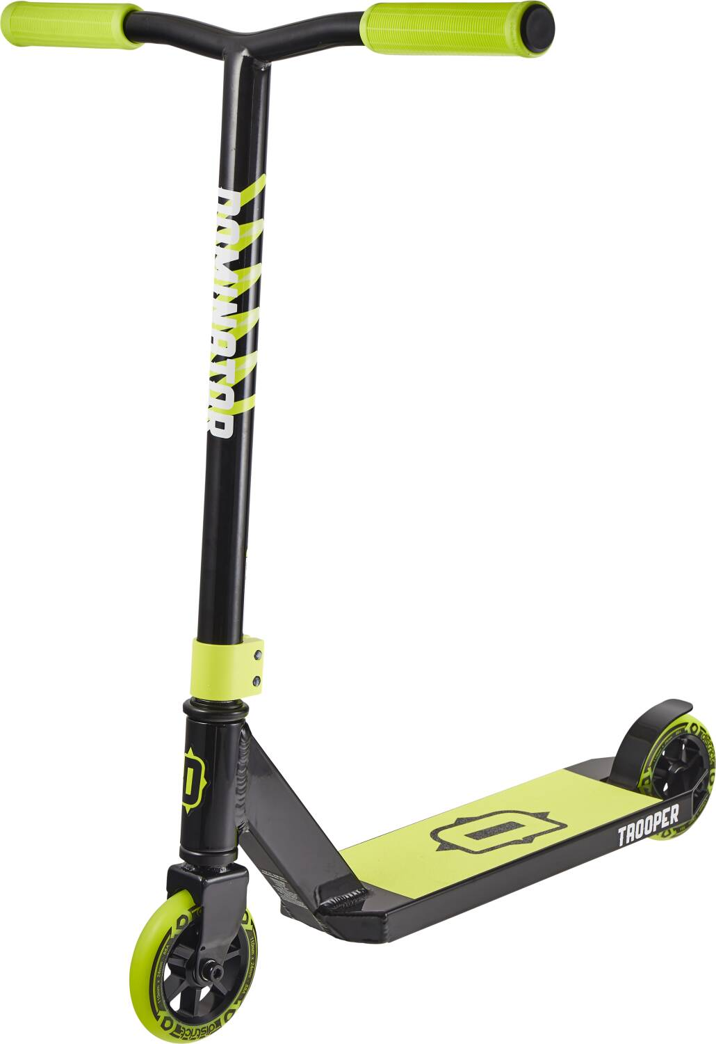 Dominator Trooper Scooter - Black / Yellow