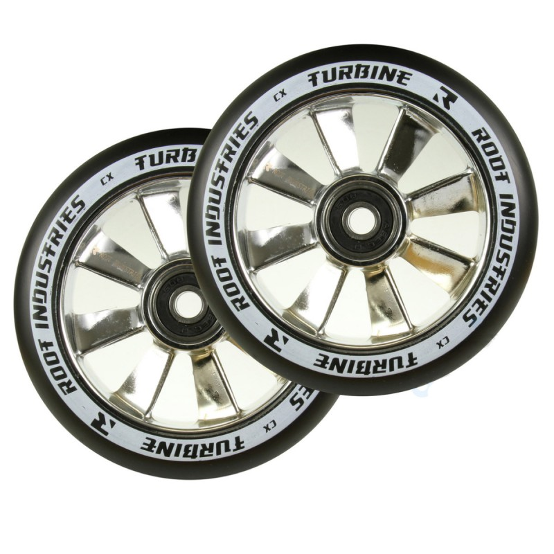 2 ks Root Industries Turbine Wheels 110 mm - Mirror