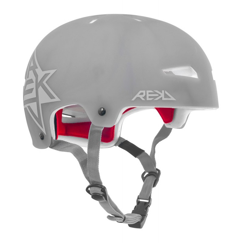 Rekd Elite Icon Semi-Transparent Helmet - Grey