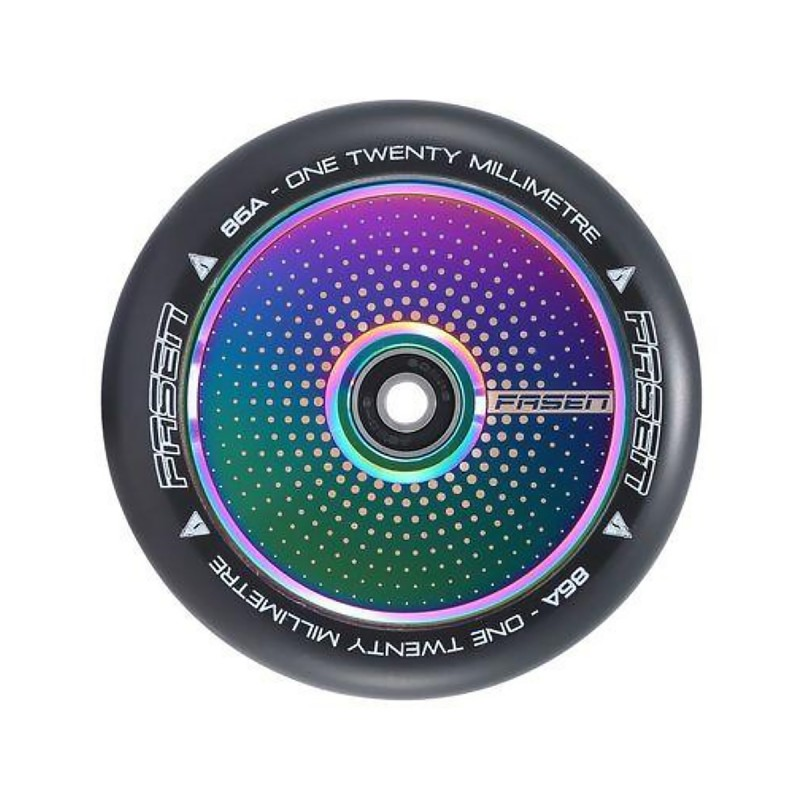Fasen Hypno Dot 120 mm Wheel - Oilslick