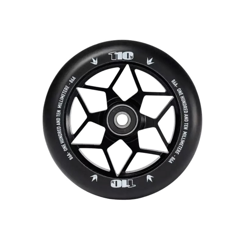 Blunt Diamond 110 mm Wheel - Black