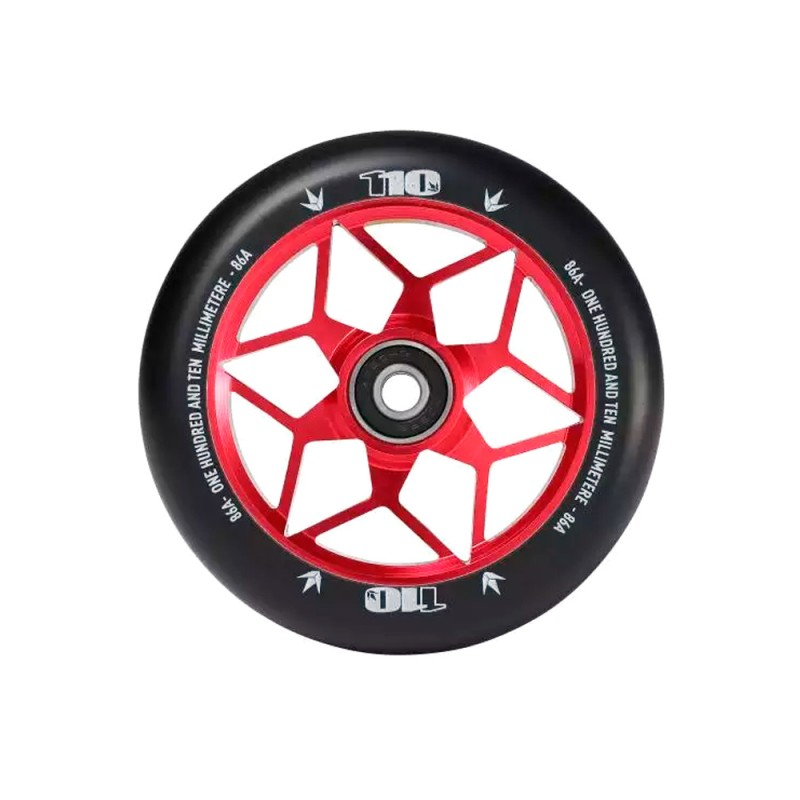 Blunt Diamond 110 mm Wheel - Red