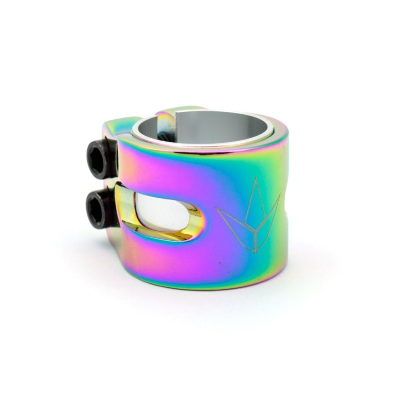 Blunt 2 Bolts Twin Slit Clamp - Oil Slick