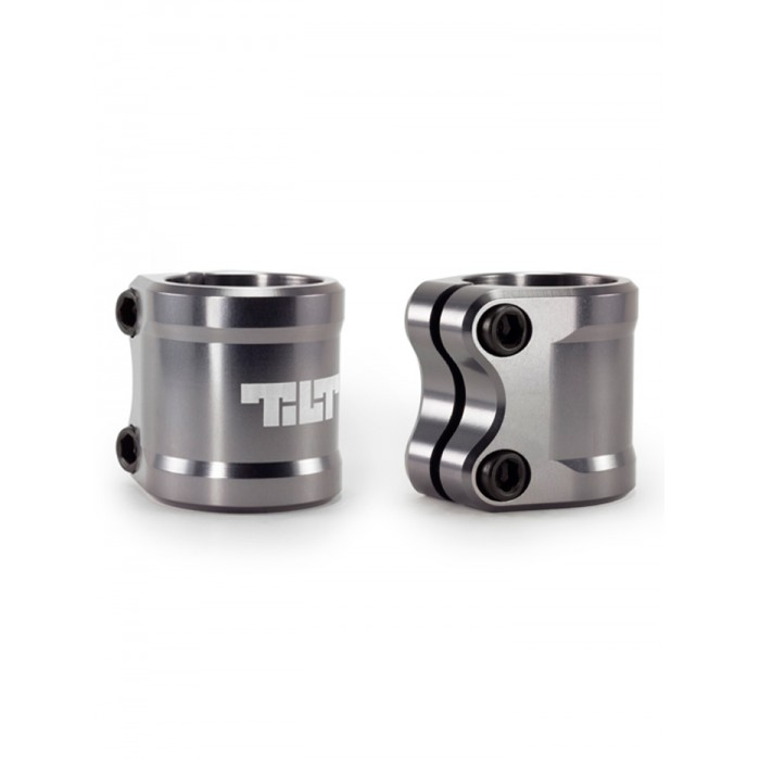 Tilt ARC Double Clamp - Grey