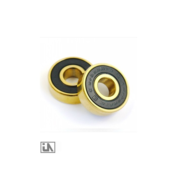ABEC 5 UrbanArtt bearing set - Gold/Black