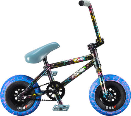 Rocker 3+ Freecoaster Crazy Main Splatter Mini BMX bicykel