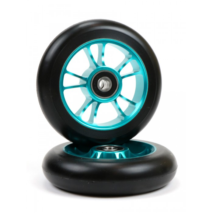 Blunt 10 Spokes Wheel 100mm - Teal