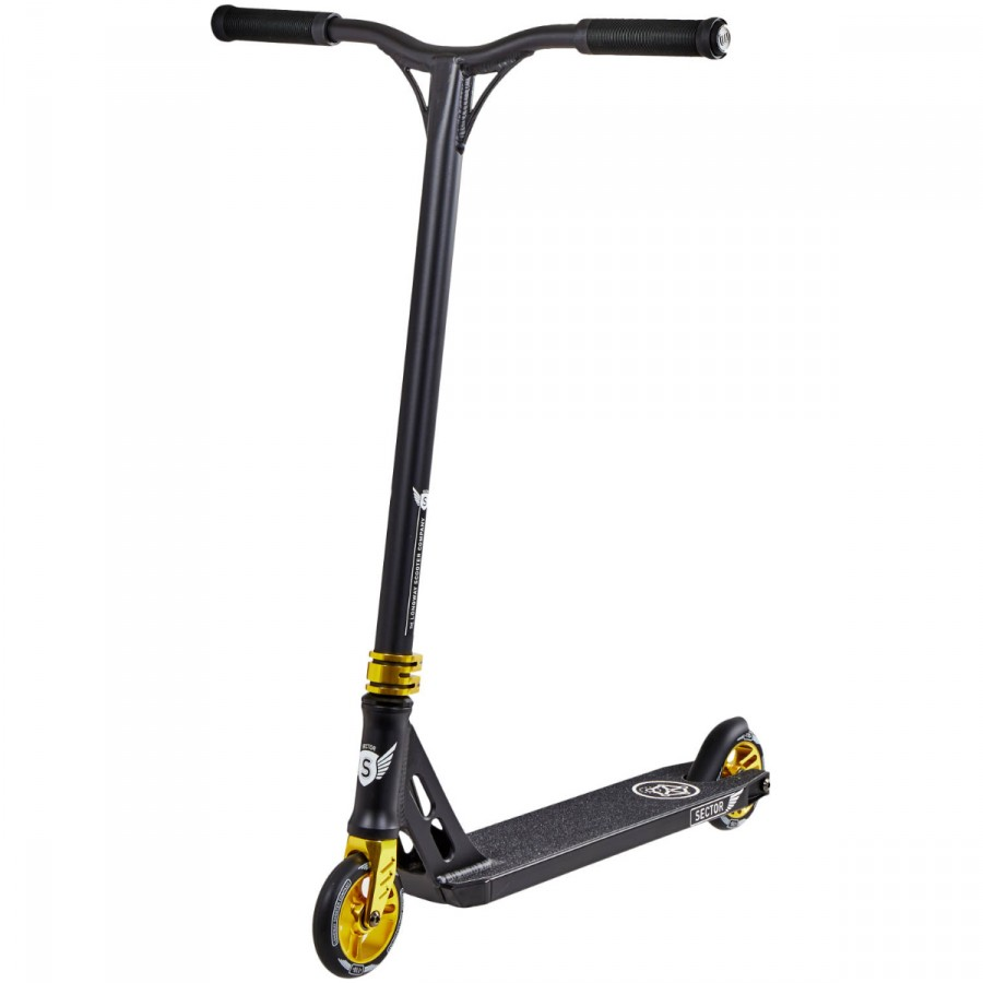 Longway Sector V2 Scooter - Black / Gold