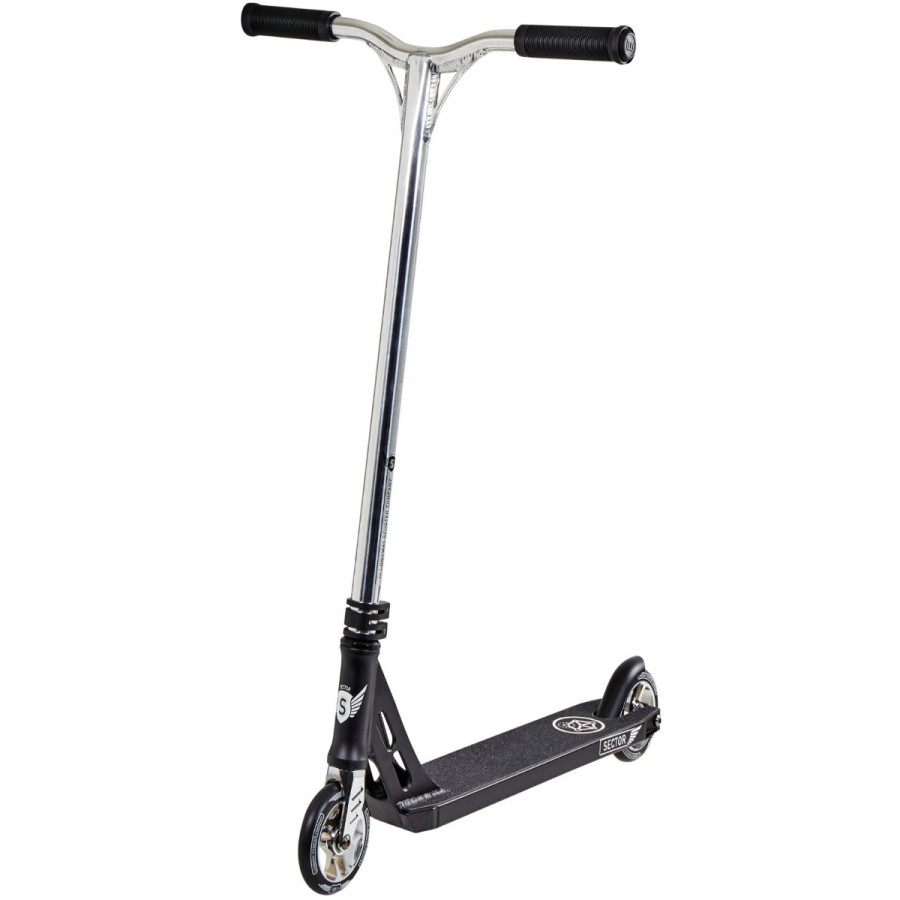 Longway Sector V2 Scooter - Black / Silver