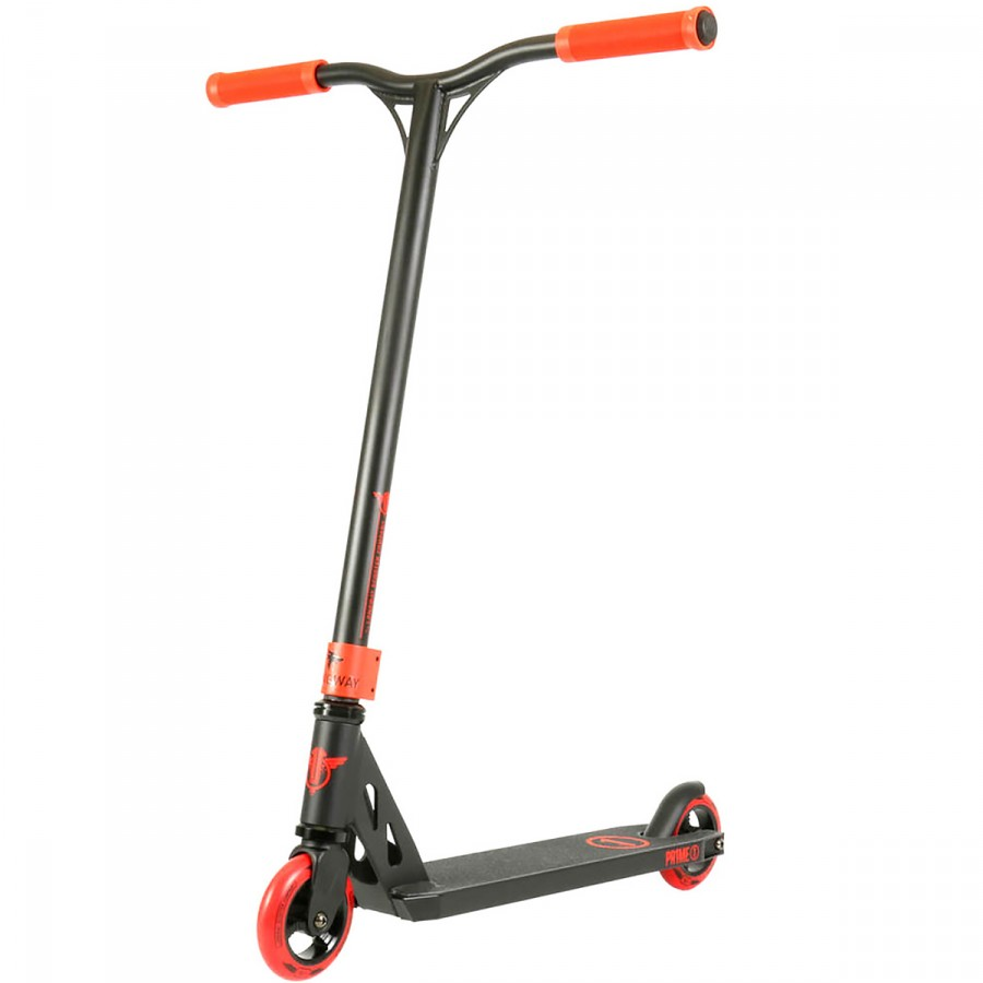 Longway Prime Scooter - Black / Red