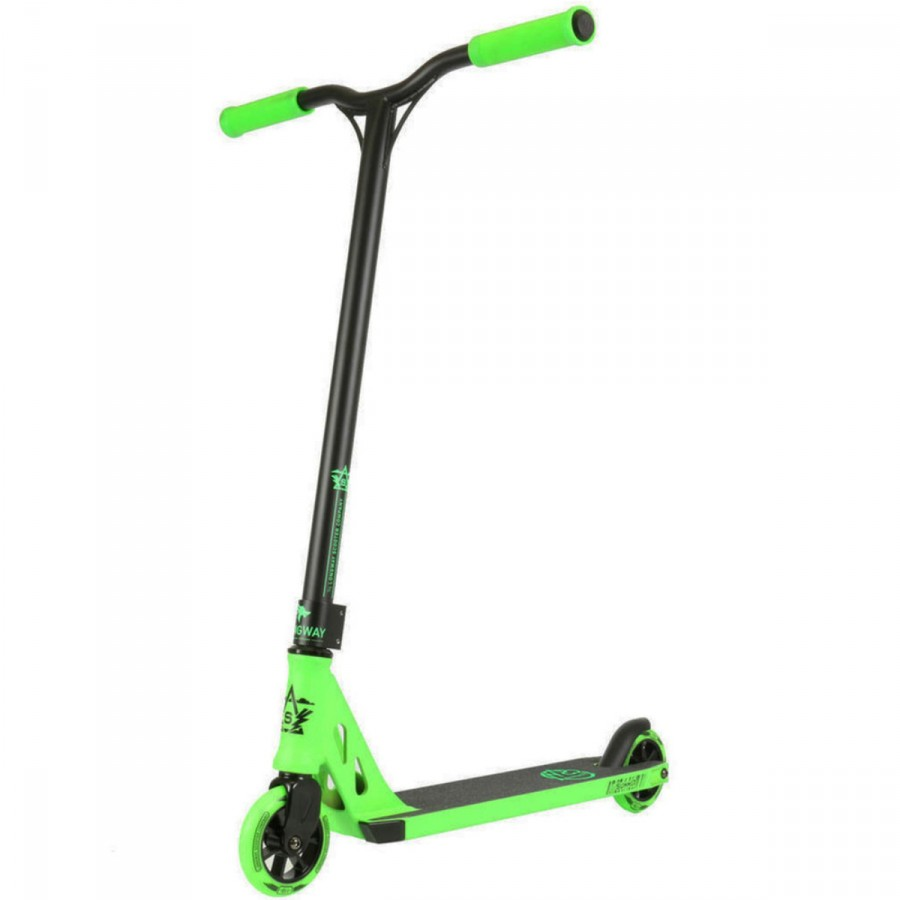 Longway Summit Scooter - Black / Green